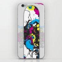 Sk8 Deck Wall Art iPhone & iPod Skin