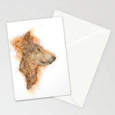 Wolf Flare Stationery Cards