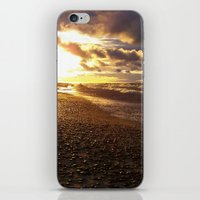 Stormy  Superior Sunset iPhone & iPod Skin