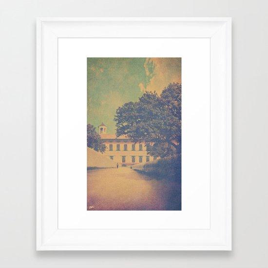 The Walk Framed Art Print