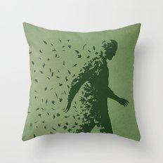 Blown Away Throw Pillow