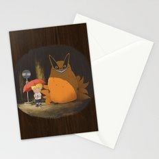My Neighbor Kurama Stationery Cards