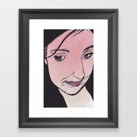 And Red All Over Framed Art Print