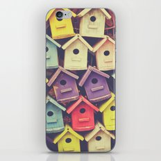 Birdhouses iPhone & iPod Skin