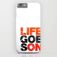 iPhone & iPod Case featuring Life Goes On by Tyler Bramer
