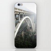 Bixby Canyon Bridge iPhone & iPod Skin