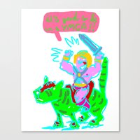 Masters of the universe of love 1 Canvas Print
