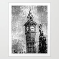 The Clock Art Print