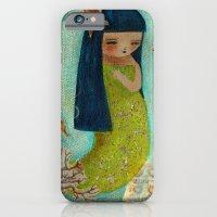 iPhone & iPod Case featuring A Little Mermaid by Danita Art