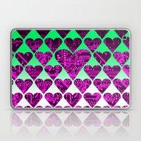 love circuit, violet Laptop & iPad Skin