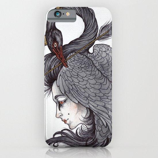 Swan Song art print iPhone & iPod Case