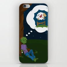 The Dead Do Dream iPhone & iPod Skin