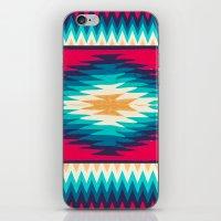SURF GIRL CHEVRON iPhone & iPod Skin