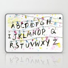 Stranger Things Alphabet Christmas Lights  Laptop & iPad Skin