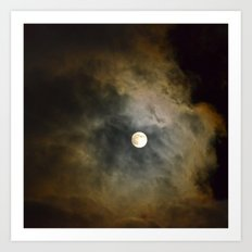 Lunar Corona  Art Print