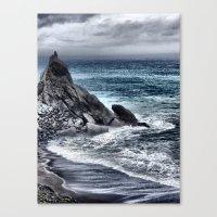 Cold Sea II Canvas Print