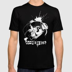 Punk's Dead SMALL Black Mens Fitted Tee