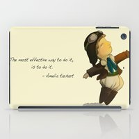 Amelia Earhart  iPad Case