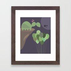 A Sad Love Framed Art Print
