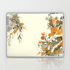 fox in foliage Laptop & iPad Skin