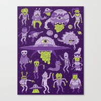 Wow! Aliens!  Canvas Print