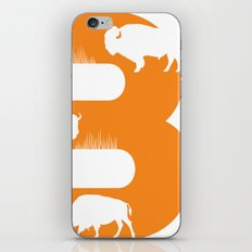 B is for Bison - Animal Alphabet Series iPhone & iPod Skin