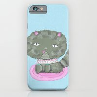 iPhone & iPod Case featuring Grumpy Cat by ilana exelby