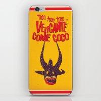 Vejigante iPhone & iPod Skin