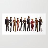 Star Trek: Deep Space Ni… Art Print