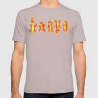 Fire Gang  Mens Fitted Tee Cinder SMALL