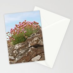 Giant's Causeway flowers Stationery Cards