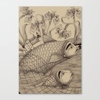 The Golden Fish (1) Canvas Print