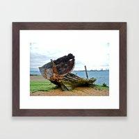 Bateaux deux Framed Art Print