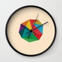 Poly Circle Wall Clock