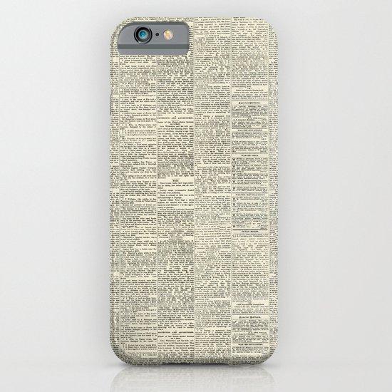 Newsie iPhone & iPod Case