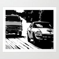 Cars #1 Art Print