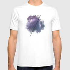 Cosmic Jargon Mens Fitted Tee SMALL White