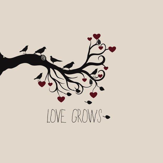 Love Bird Tree Art Print