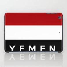 yemen flag iPad Case