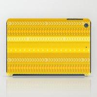 Indomitable - tribal geometrics iPad Case