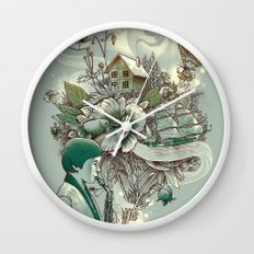 'In Tune with Nature' Wall Clock