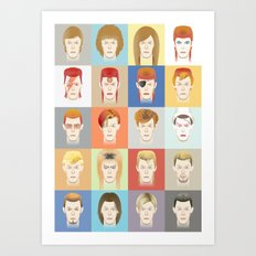 Golden Years Art Print