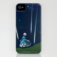 iPhone 4s & iPhone 4 Cases featuring Howl's Moving Castle by IllustrateKate