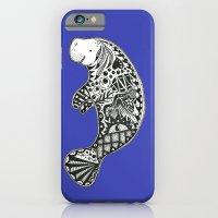 Blue Manatee iPhone 6 Slim Case