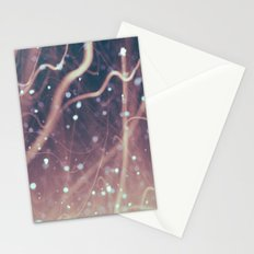 Laser Beams Stationery Cards
