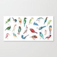 Wild Birds Canvas Print