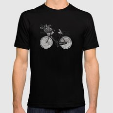 World Tour SMALL Mens Fitted Tee Black