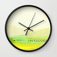 Minimal Meadow Redux Wall Clock