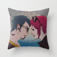 creatormeetscreation Throw Pillow