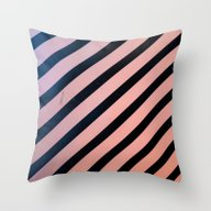 Lines Out Throw Pillow